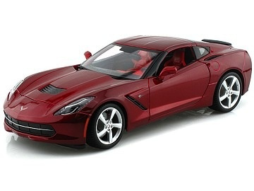 Collectibles C7 Corvette Diecast 1:18 Maisto Red