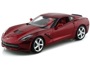 Collectibles C7 Corvette Diecast 1:18 Maisto Red
