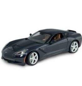 Collectibles C7 Corvette Diecast 1:18 Maisto Night Race Blue