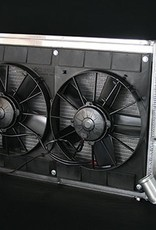 Cooling 1963-65 Aluminum Radiator SBC-BBC-W/Dual Fans