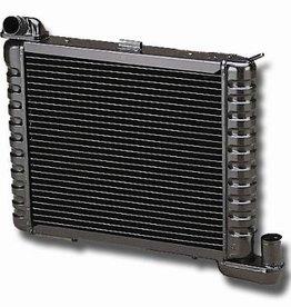 Cooling 1963-72 Direct Fit Aluminum Radiator Manual Transmission Black Finish