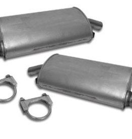 Exhaust 1963-67 Mufflers 2 Pair