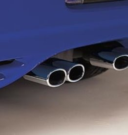 Exhaust 1997-00 Chrome Exhaust Tips Set of 4-S/Steel