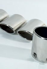 Exhaust 1997-2000 Exhaust tips S/Steel-Set of 4