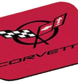 Accessories C5 Mouse Pad Logo-Red