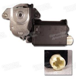 Electrical 1976-82 Power Window Motor LH-Flat Style