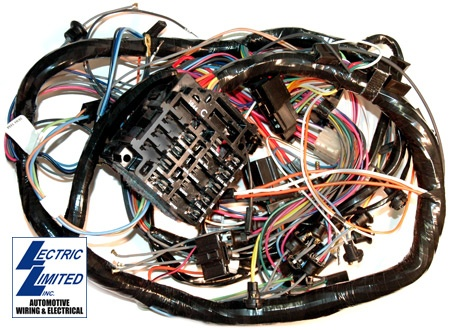Electrical 1974 Wiring Harness Firewall Forward with Air Conditioning