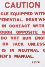 Books\Manuals 1957-71 Posi Decal Trunk
