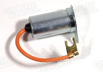 Electrical 1963-67 Ignition Capacitor W/Bracket