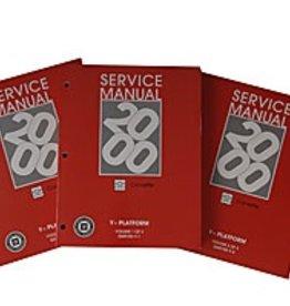 Books\Manuals 2000 Corvette Service Manual 3 Book Set