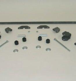 Suspension 1960-62 Stabilizer/Sway Bar Kit Complete Rear