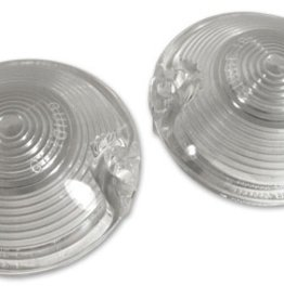 Body 1968-69 Park Light Lens Clear-Pair