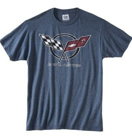Apparel Corvette Graphic T-Shirt Indigo Blue Small