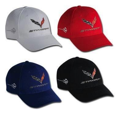Apparel C7 Stingray Hat Black