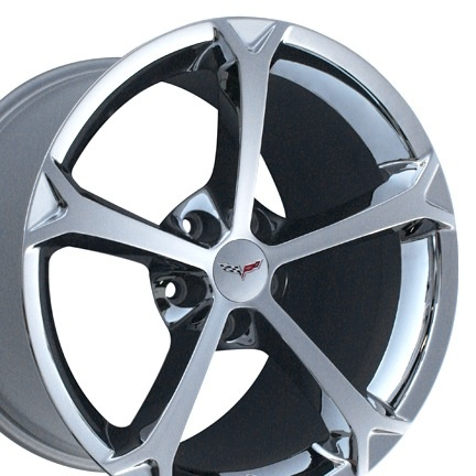 Used Parts 2010-2013 Grand Sport Chrome Aluminum  Wheels with Lugs, Caps and Sensors Set of 4 USED