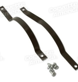 Heating\AC 1958-62 Fresh Air Hose Brackets Pair