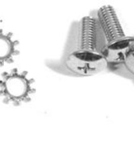 Tops 1956-62 Convertible Top Rear Latch to Top Screws 8 Piece