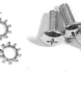 Tops 1956-62 Convertible Top Rear Latch to Top Screws 8 Piece