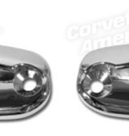 Tops 1963-67 Latch Plate Soft Top/Hard Top Header Pair