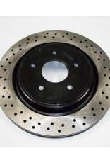 Brakes C6 Brake Rotor Package Drilled and Slotted Front/Rear