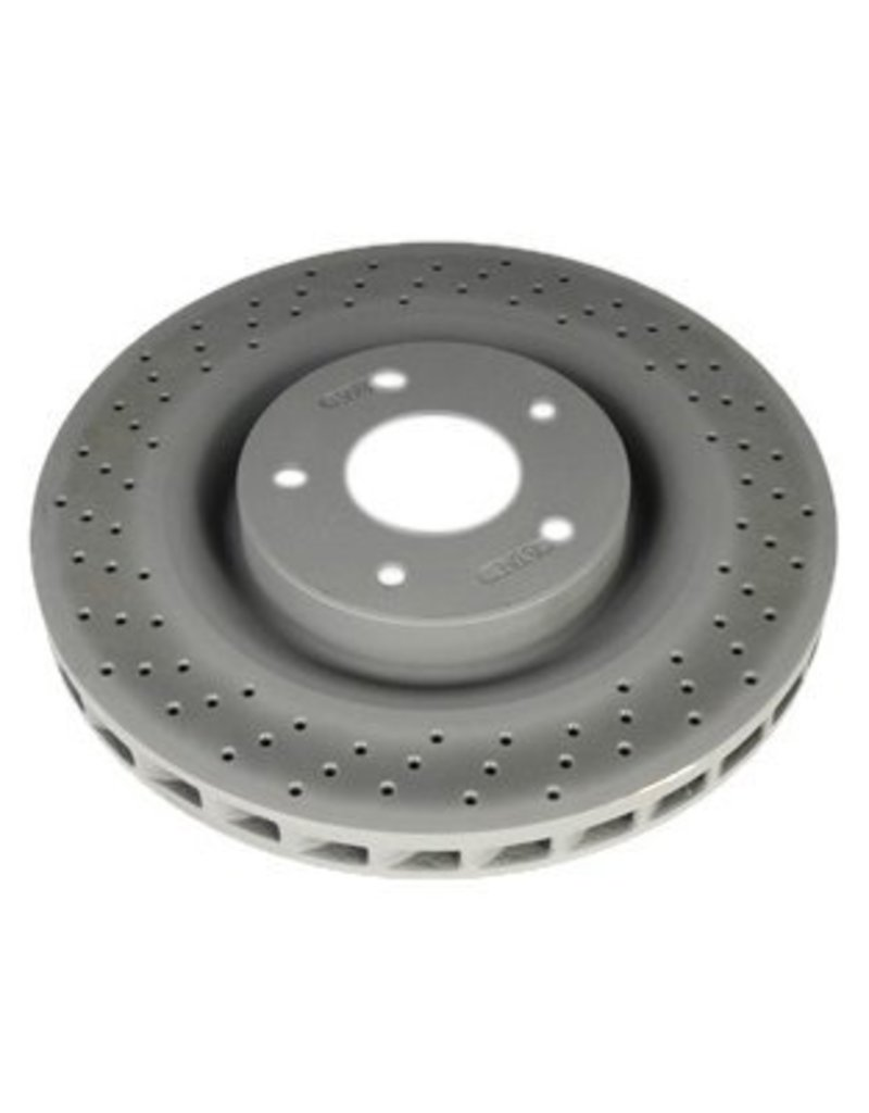 Brakes 2005-13 Brake Rotor Front with Z51 AC Delco