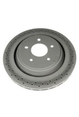Brakes 2005-13 Brake Rotor Rear with Z51 Drilled AC Delco