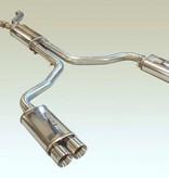 "Exhaust 1992-96 Magnaflow Cat Back Exhaust System 4"" Tips"