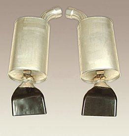 Exhaust 1992-96 Mufflers Pair