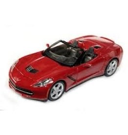 Collectibles 1:24 Scale Diecast Convertible Crystal Red