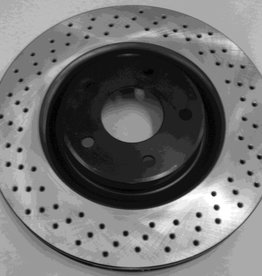 Brakes 1997-2013 Front Brake Rotor 'Drilled'  for Z51
