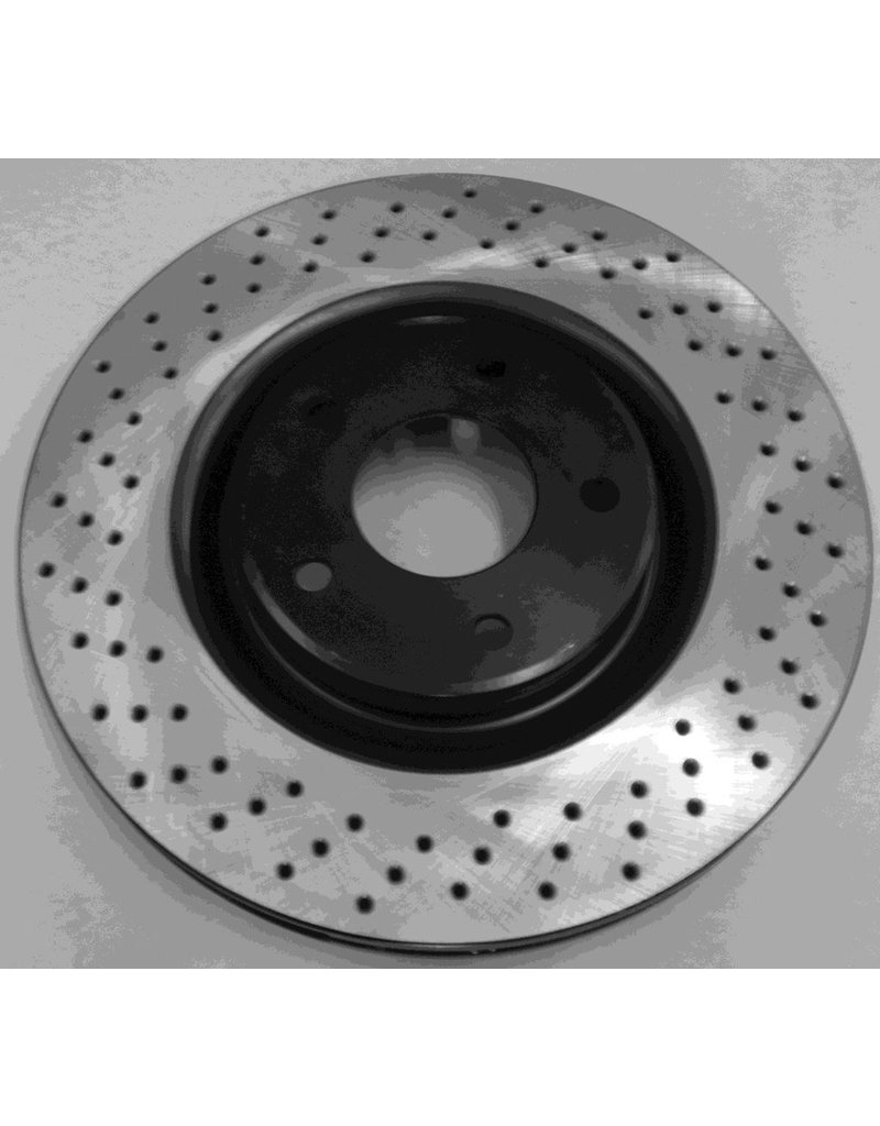 Brakes 1997-2013 Rear Brake Rotor 'Drilled' for Z51