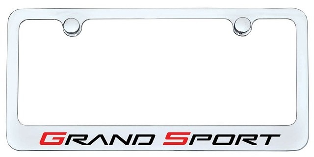 Accessories 2010-13 Grand Sport License Plate Frame