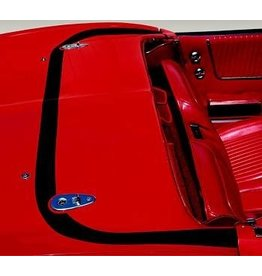 Accessories 1963-67 Deck Lid Protector Hardtop Clear