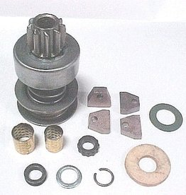 Electrical 1957-86 Starter Rebuild Kit with Drive