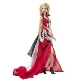 Collectibles C6 Corvette Barbie Doll Red