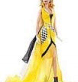 Collectibles C6 Corvette Barbie Doll Yellow