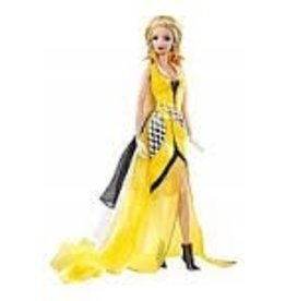 Collectibles C6 Corvette Barbie Doll Yellow