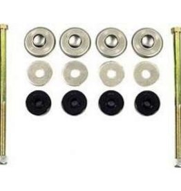 Suspension 1984-96 Rear Spring Bolt Kit with Bushings Long