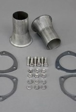 "Exhaust Summit Racing Exhaust Header Reducer Kit 3"" to 2 1/4"""