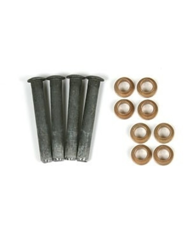 Body 1956-62 Door Hinge Pin Kit With Bushings