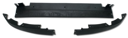 Body 2005-13 C6 Front Lower Air Dam GM 3 Piece Set