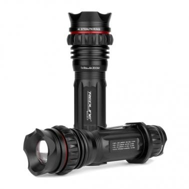 Accessories High Power 310 Lumen LED with Aggressive Self-Defense Face.
