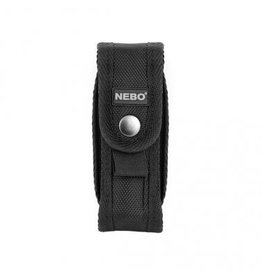 "Accessories The NEBO® Flashlight Holster is designed to conveniently secure your NEBO® flashlights. Best fits flashlights 1"" in diameter. (Note: Will not fit Redline or CSI Flashlights)."