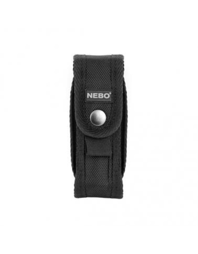 """Accessories The NEBO® Flashlight Holster is designed to conveniently secure your NEBO® flashlights. Best fits flashlights 1"""" in diameter. (Note: Will not fit Redline or CSI Flashlights)."""