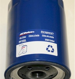 Engine PF35L Oil Filter AC Delco Long/Blue