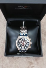 Apparel C6 Chronograph Watch Gold with Gold Band Black Face