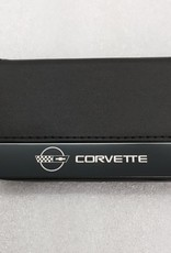 Accessories C4 Credit Card Case Black Leather with Logo