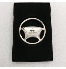 Accessories C4 Key Fob Steering Wheel with Logo and Lettering