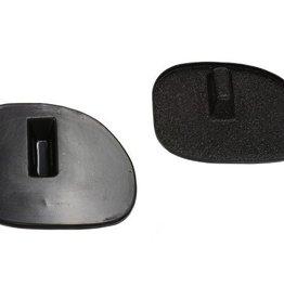 Accessories 1997-2004 Vent Covers Passenger Side Pair Black