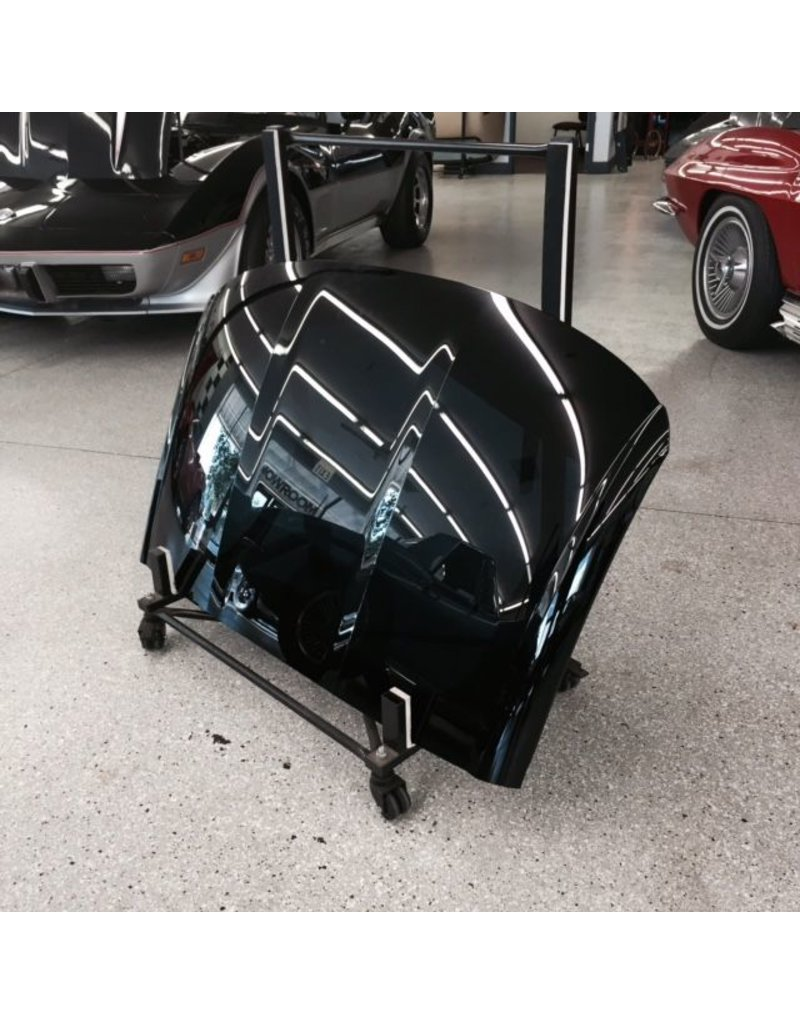 Tops 2005-13 Fiberglass Roof Panel New GM Painted Black without Hardware